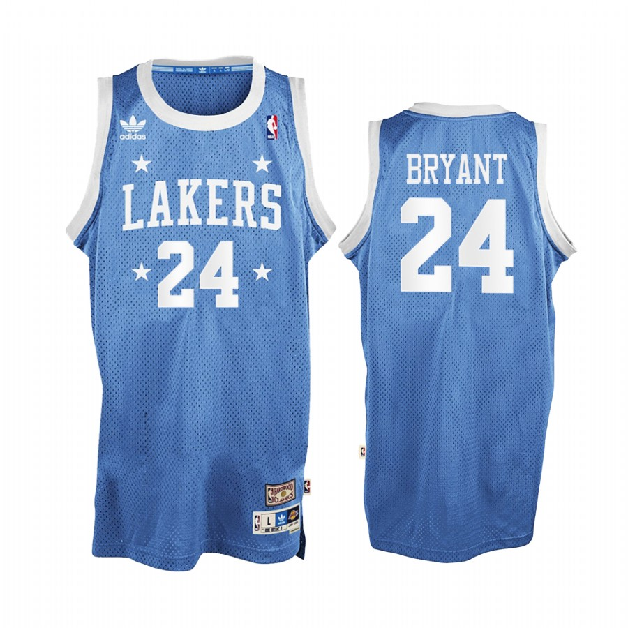 Kobe Bryant #24 Lakers Blue MPLS All-Star Classic Jersey