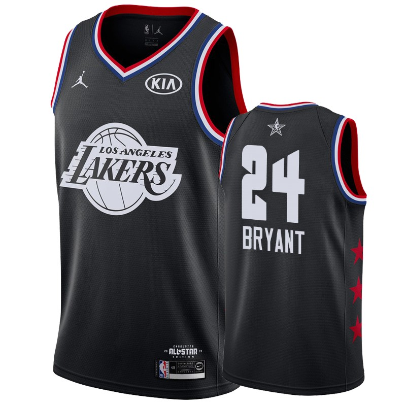 Kobe Bryant #24 Los Angeles Lakers 2019 All-Star Game Black Jersey