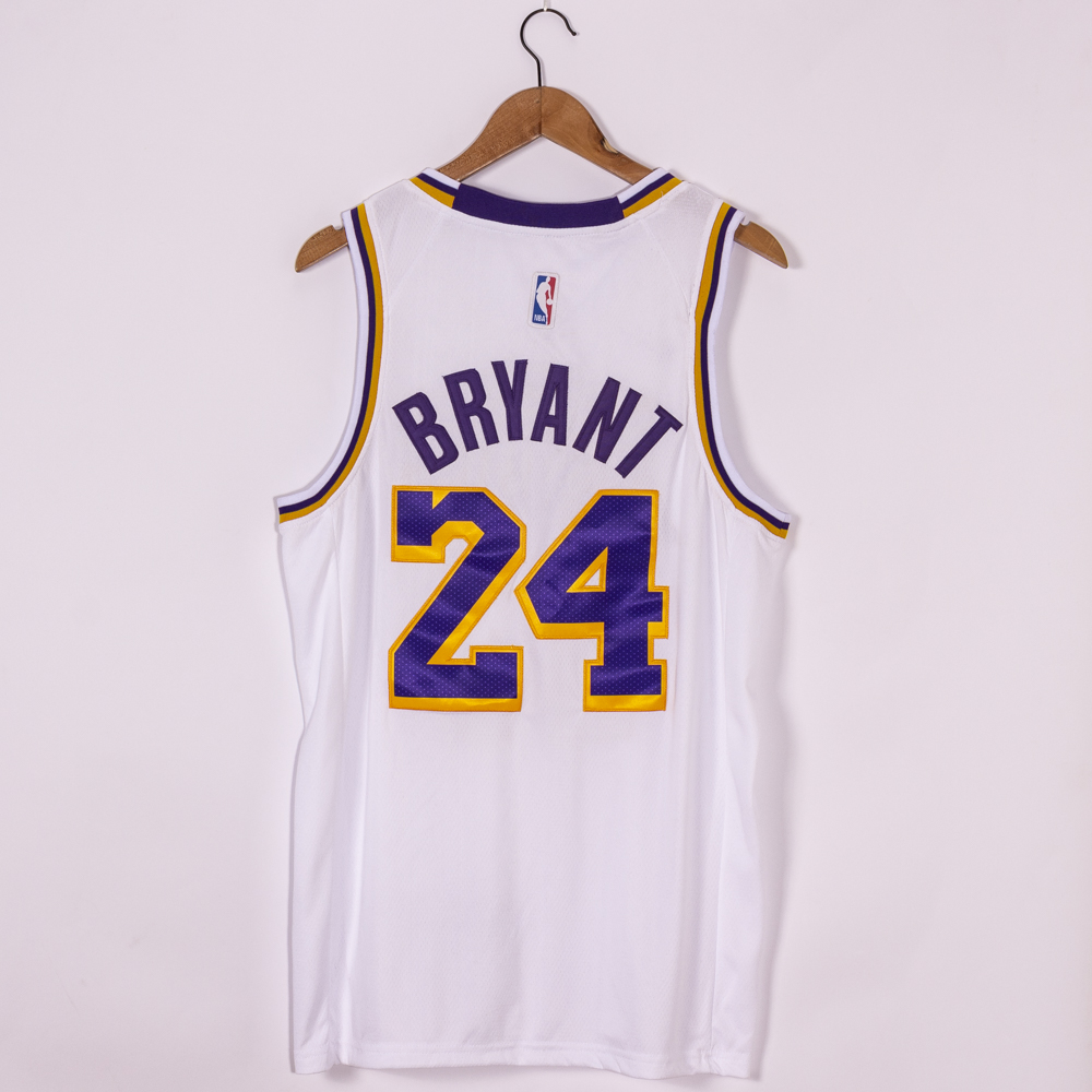 Kobe Bryant #24 Los Angeles Lakers 2020 Association Edition White Jersey